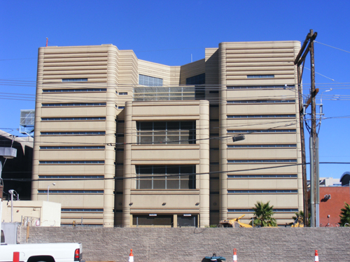 Clark County Detention Center - Back View